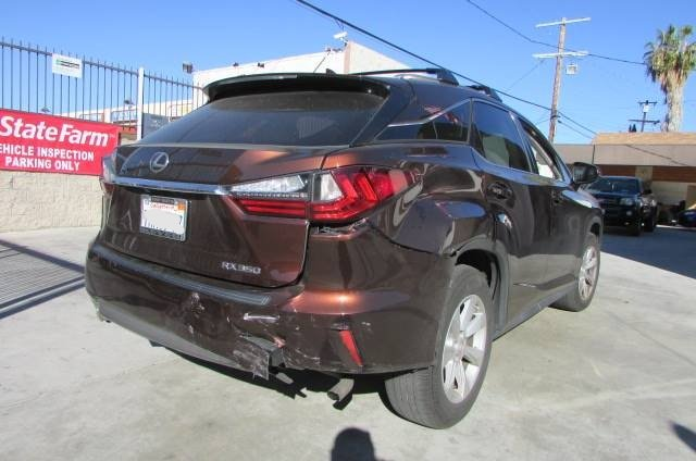 2016 LEXUS RX 350 BEFORE