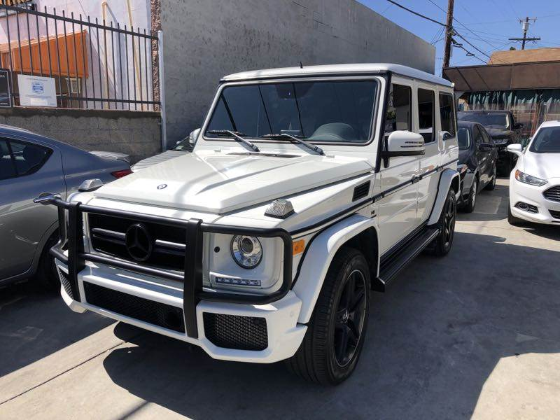 2016 MB GCLASS AFTER
