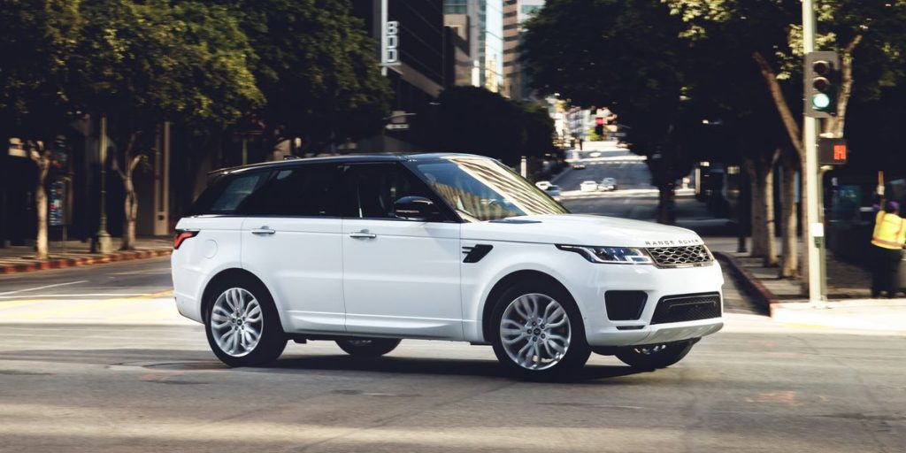 Land Rover Range Rover Sport Auto Body Repair Shop