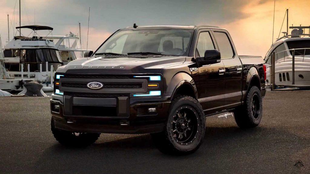 Ford F150 Auto Body Repair Shop
