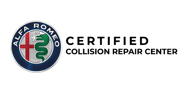 alfa romeo certified collision repair center logo