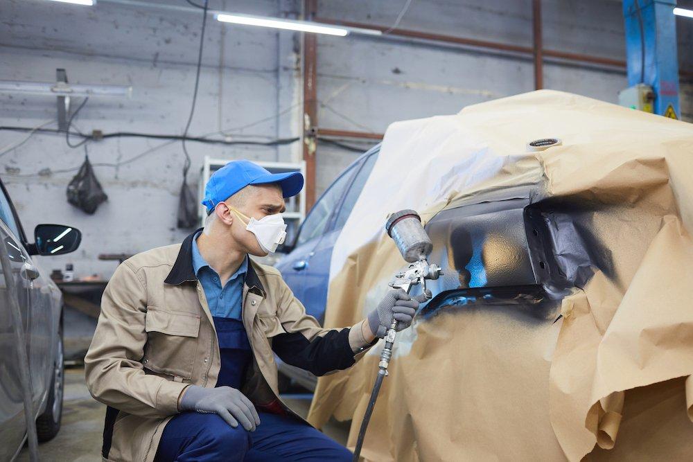 Auto Body Paint Shop